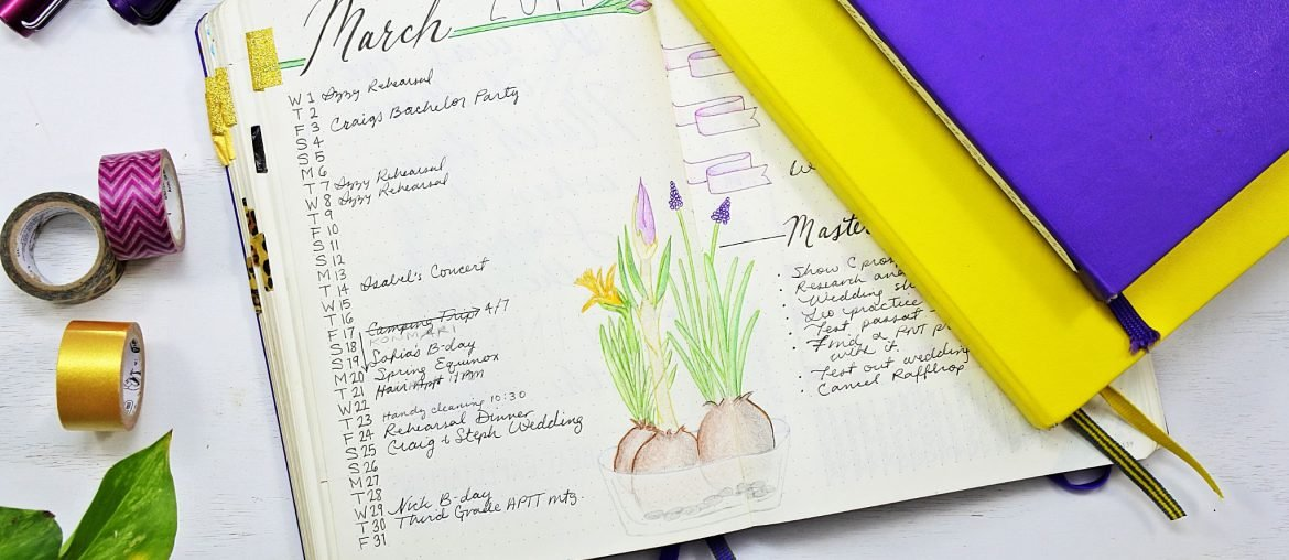 Monthly Planning 101: The Essential Bullet Journal Guide