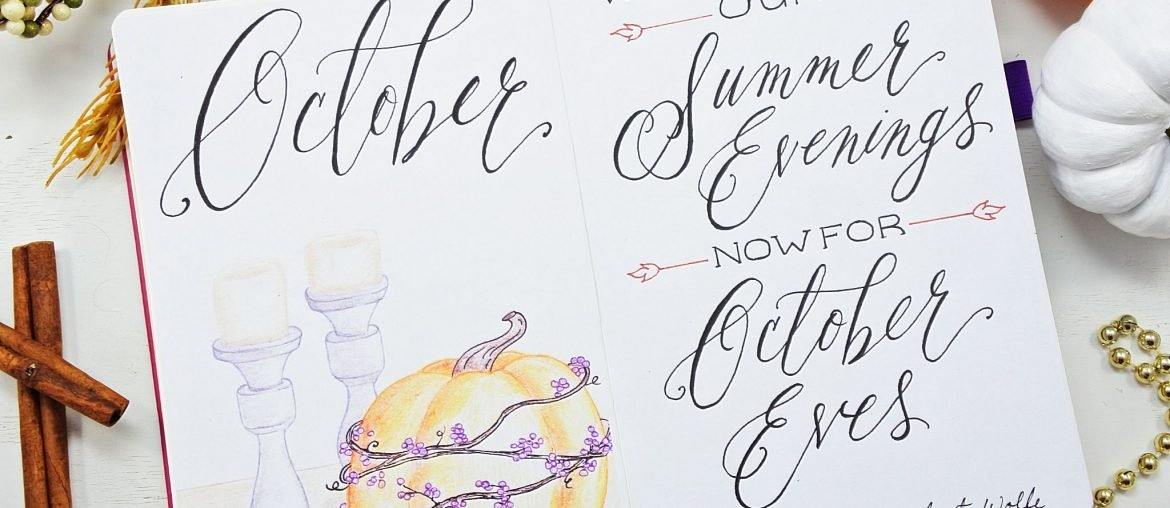 Free Printable October Planning Pack!