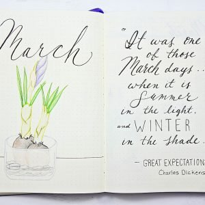 Hello march bullet journal