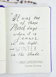 quote Great Expectations Charles Dickens