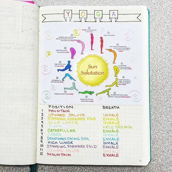 15 awesome workout trackers for your bullet journal