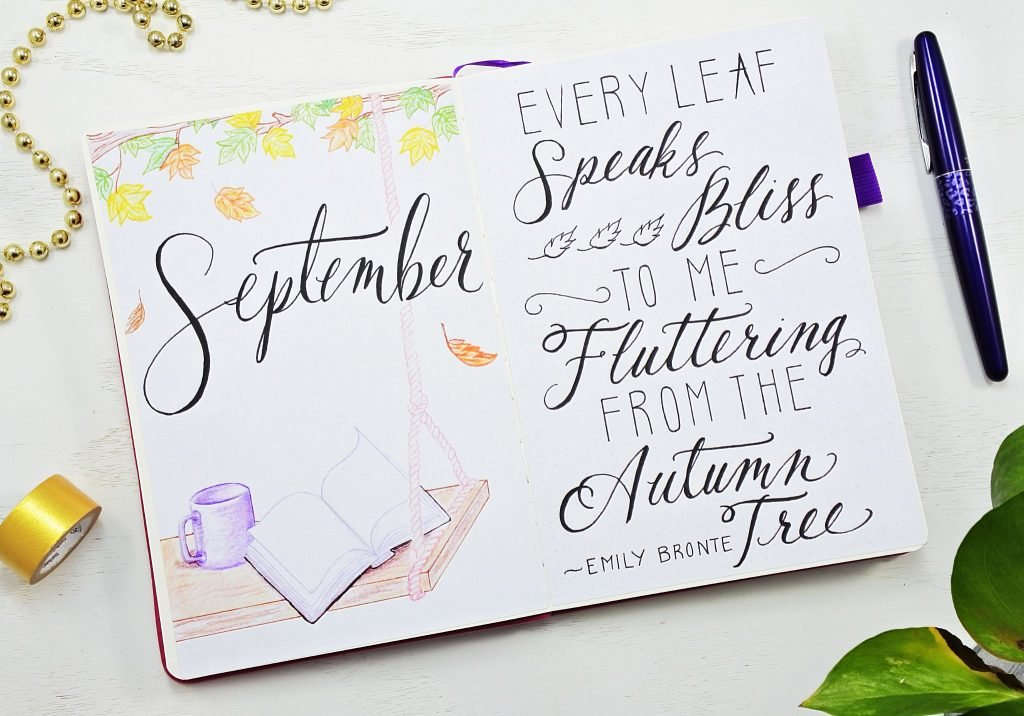Hello September + Quote Of The Month
