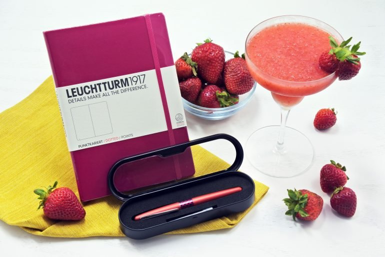 bullet journal giveaway strawberry daiquiri