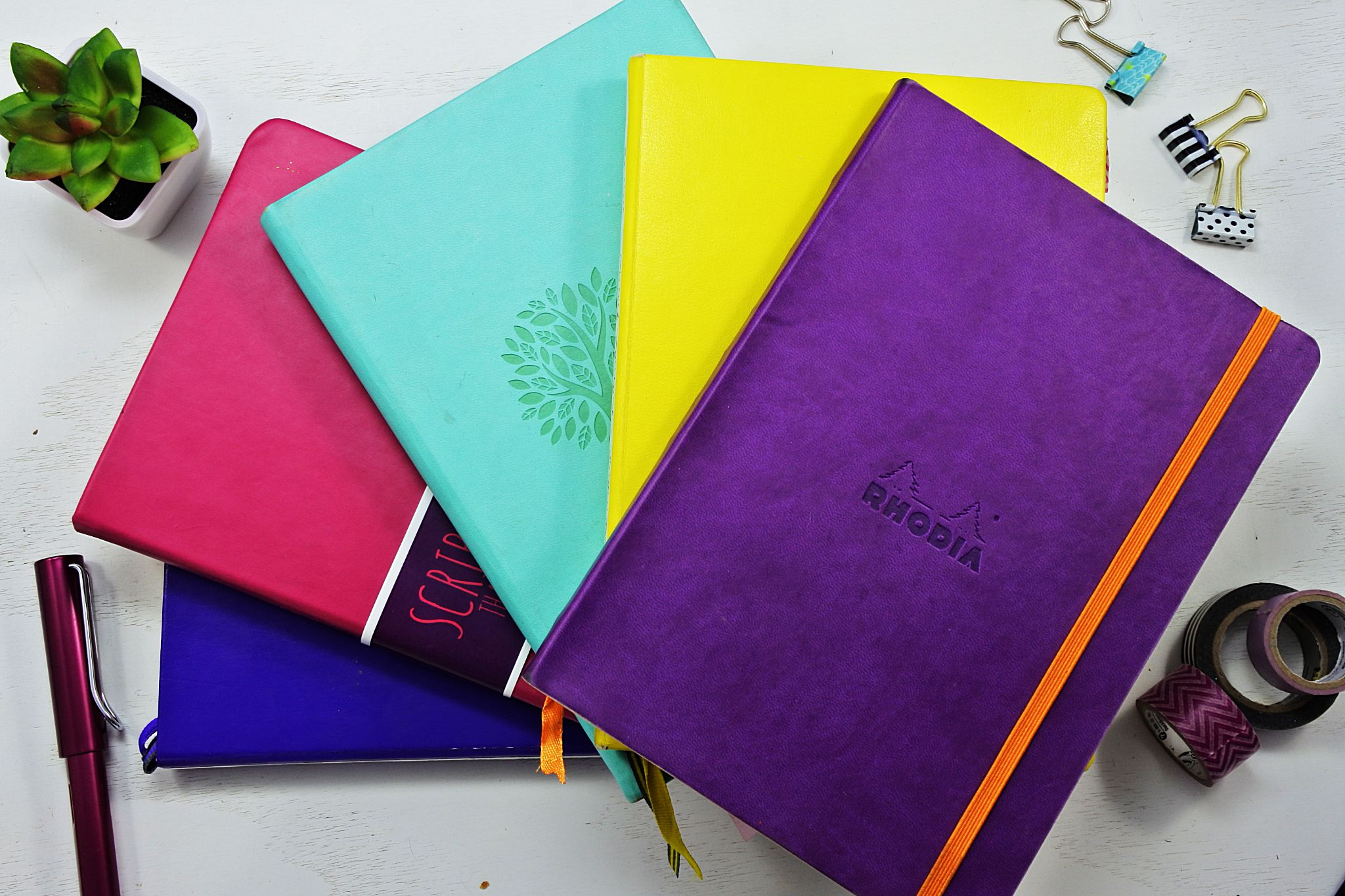 Journal Notebooks for Your Bullet Journal — Top 5 ⋆ Sheena of the