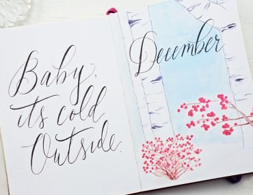 hello december bullet journal