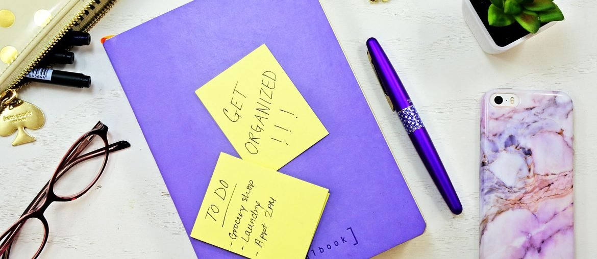 organize schedule bullet journal