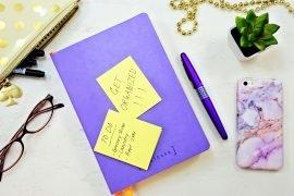 organize schedule bullet journal