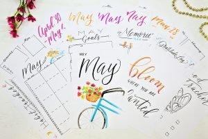 may bullet journal printables