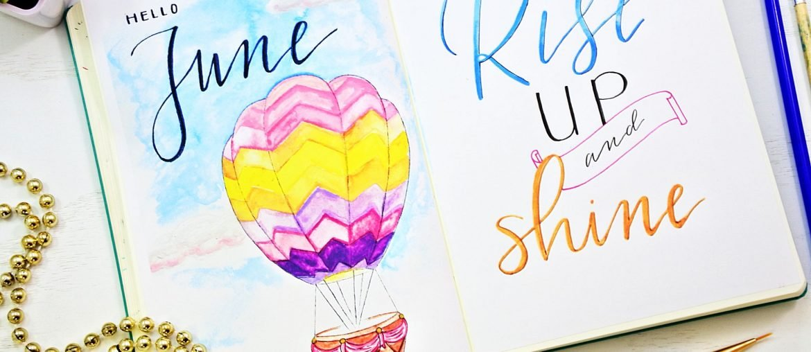 hello june monthly planner printables