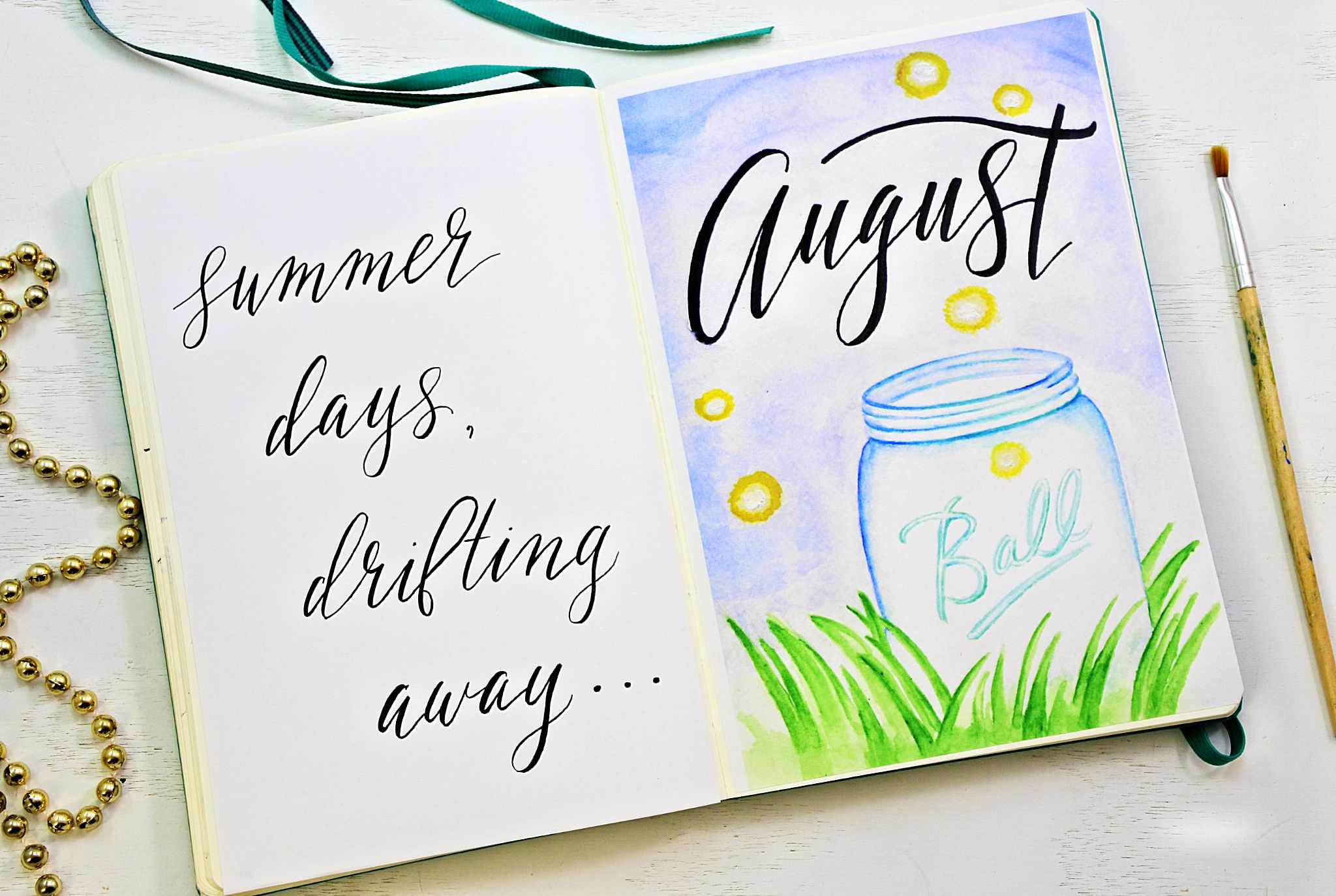 image about Bullet Journal Printable Pages named Totally free Bullet Magazine Printables for August ⋆ Sheena of the