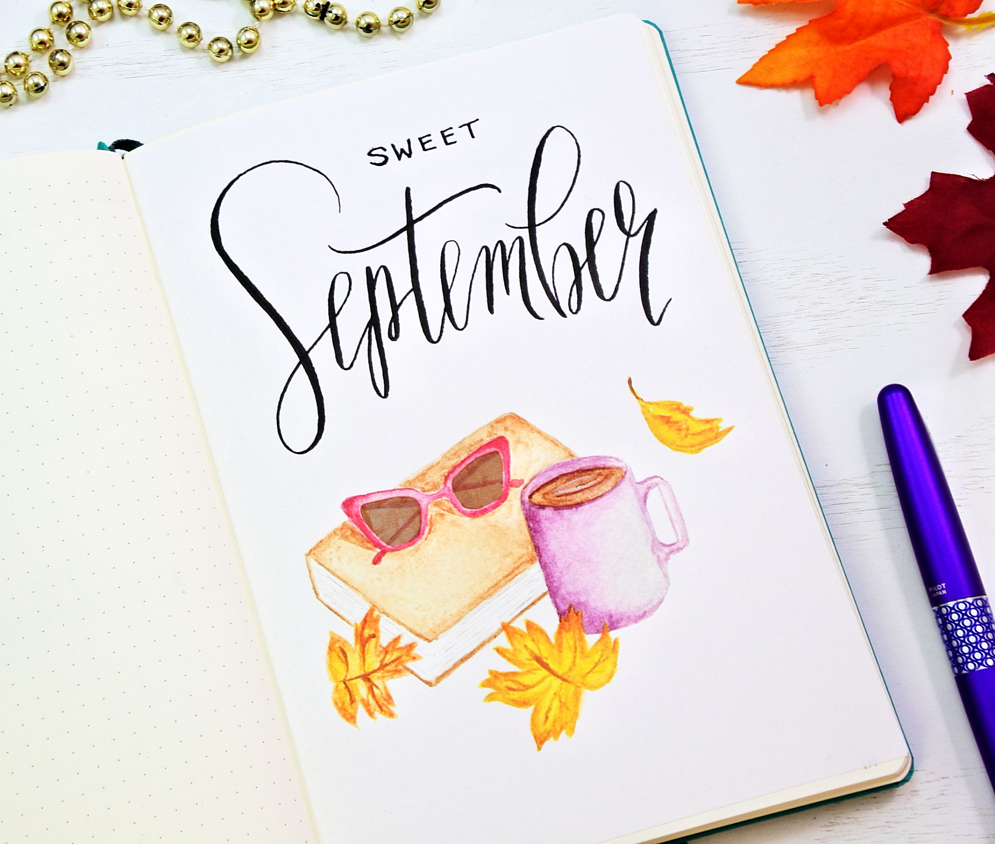 september 2018 bullet journal printables sheena of the journal