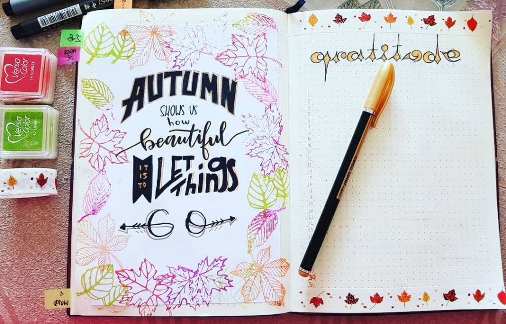 fall quotes for your bullet journal!
