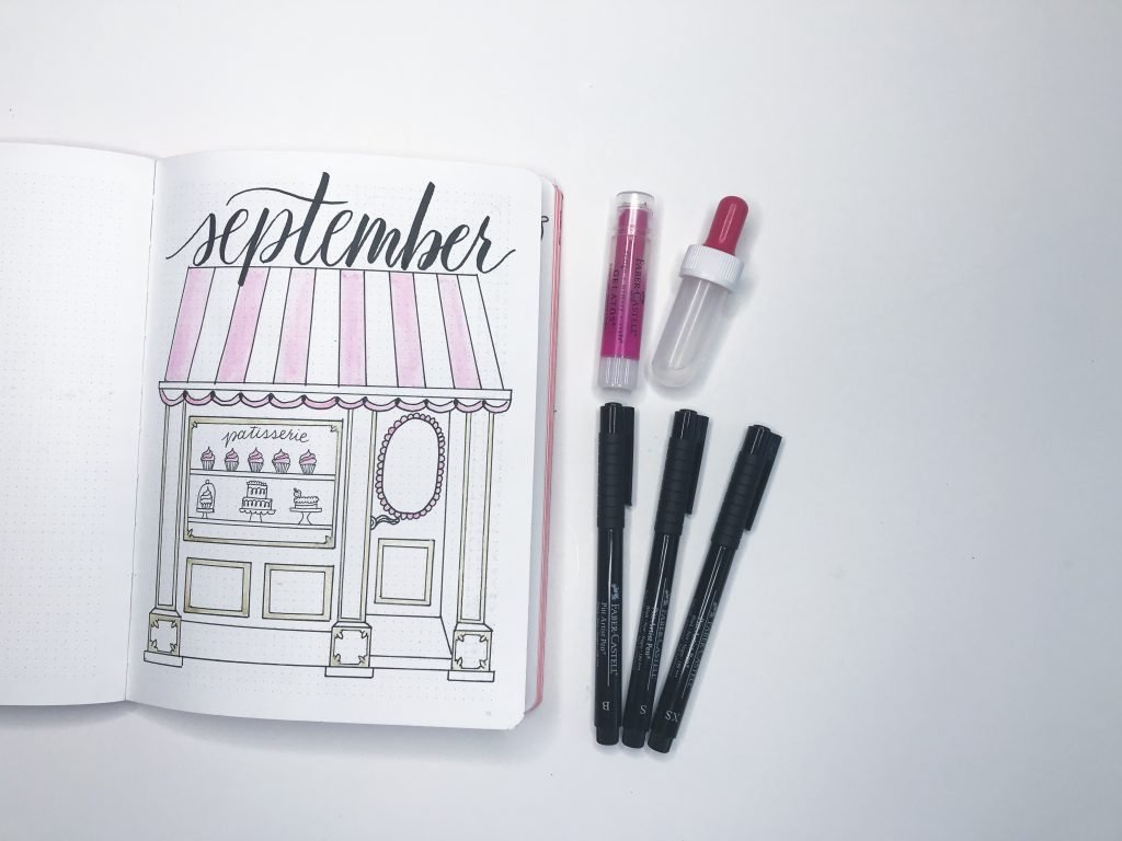 Creative fall cover pages for your bullet journal!
