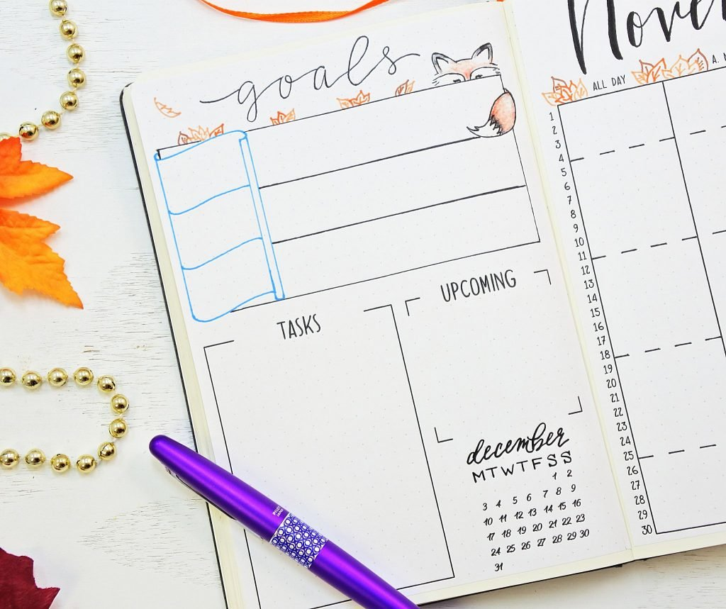 Printable goals for november