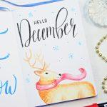 December 2018 Bullet Journal Setup