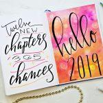 Bullet Journal Setup for 2019