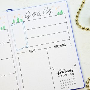 printable bullet journal setup