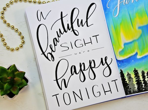 printable hand lettered quote
