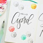 April Bullet Journal Setup