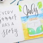 July Bullet Journal Setup 2019