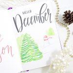 December Bullet Journal Setup 2019