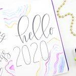 Bullet Journal Setup for 2020