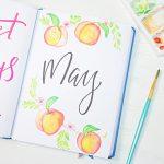 May Setup with Free Printables