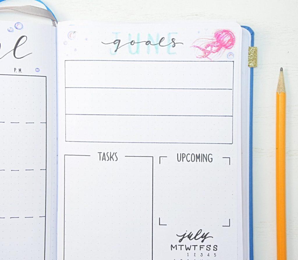 June goals page